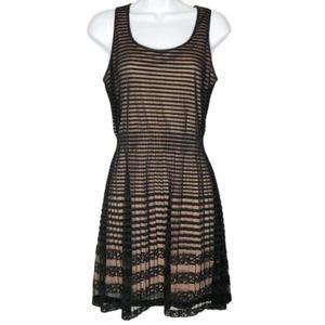 Maison Jules Black Lace Dress Size Small